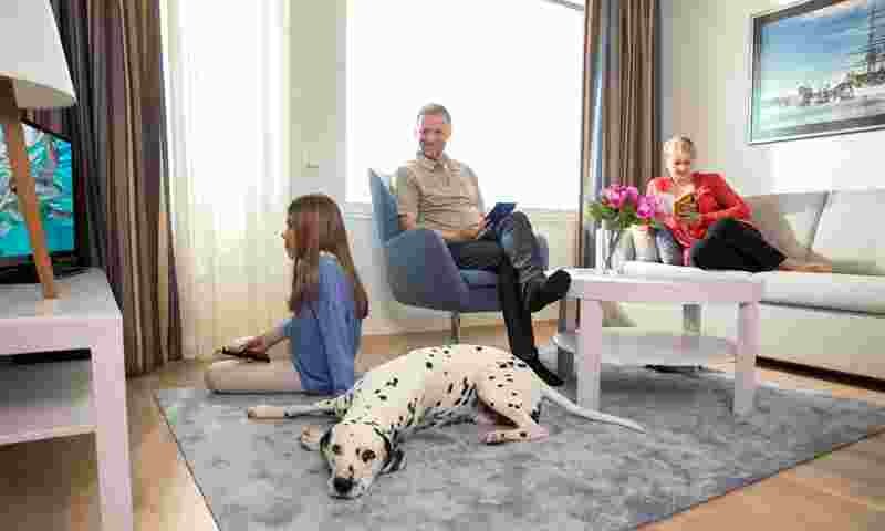 Caribia villas family and dog hor.jpg